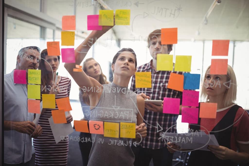 Conversion Optimierung Team erarbeitet eine Strategie